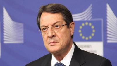 Αναστασιάδης (πρόεδρος Κύπρου): Το Ευρωπαϊκό Συμβούλιο να τερματίσει διπλωματία των κανονιοφόρων
