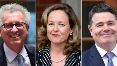 Gramegna, Calvino, Donohoe: Ποιος θα καθίσει στον προεδρικό θώκο του Eurogroup;