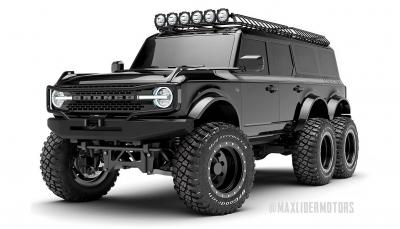 Το Ford Bronco έγινε εξάτροχο!