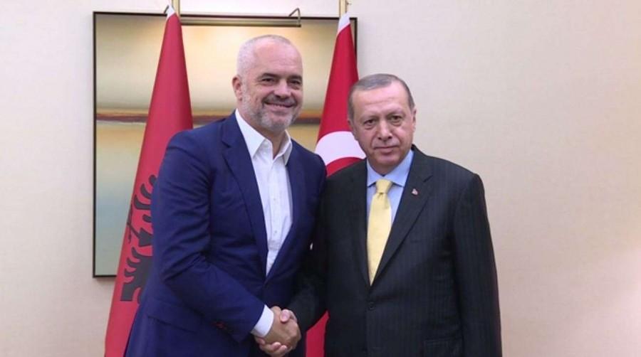 Στην Τουρκία ο Rama - Συνάντηση με Erdogan για 12 ναυτικά μίλια της Ελλάδας στο Ιόνιο