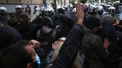 Σε 21 προσαγωγές προχώρησε η ΕΛΑΣ στη συγκέντρωση στο κέντρο της Αθήνας για Κουφοντίνα