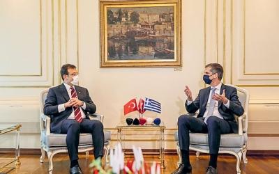 Στην Αθήνα αύριο 21/9 ο Ekrem Imamoglu – Συνάντηση με Μητσοτάκη