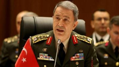 Akar (υπ. Άμυνας Τουρκίας): Θα ηττηθεί η τρομοκρατία τόσο εντός της χώρας, όσο και στο εξωτερικό