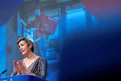 Vestager (Κομισιόν): Οι επενδύσεις στα δίκτυα 5G μέσω του Ταμείου Ανάκαμψης υπόκεινται στους κανόνες Ανταγωνισμού