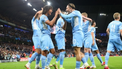 Champions League: «Έβρεξε» γκολ από Σίτι και Λειψία, την ώρα που η Παρί Σεν Ζερμέν… κόλλησε στο 1-1 με την Μπριζ! (video)