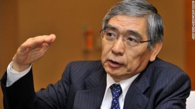 Kuroda (BoJ): Η νομισματική χαλάρωση θα συνεχιστεί και τα επόμενα χρόνια - Δε θα επιτευχθεί σύντομα ο στόχος πληθωρισμού