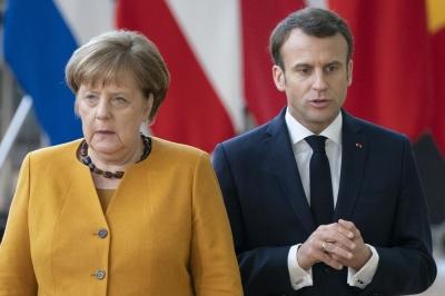 Merkel - Macron: Προτεραιότητα η διασφάλιση των συμφερόντων της Ελλάδας και της Κύπρου
