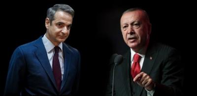 Προσωπική επίθεση Erdogan σε Μητσοτάκη: Οι φίλοι σου σε παράτησαν - Μην προκαλείς - Δύο κράτη στην Κύπρο