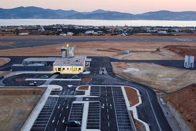 Αναβαθμίζεται με 46 εκατ. ευρώ το αεροδρόμιο της Πάρου