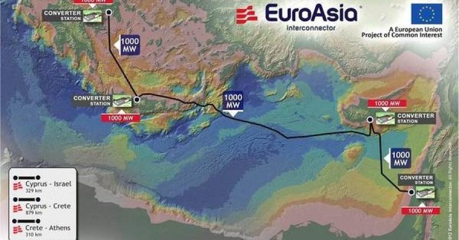 Επεσαν οι υπογραφές μεταξύ Ελλάδας - Κύπρου - Ισραήλ για την ηλεκτρική διασύνδεση EuroAsia Interconnector