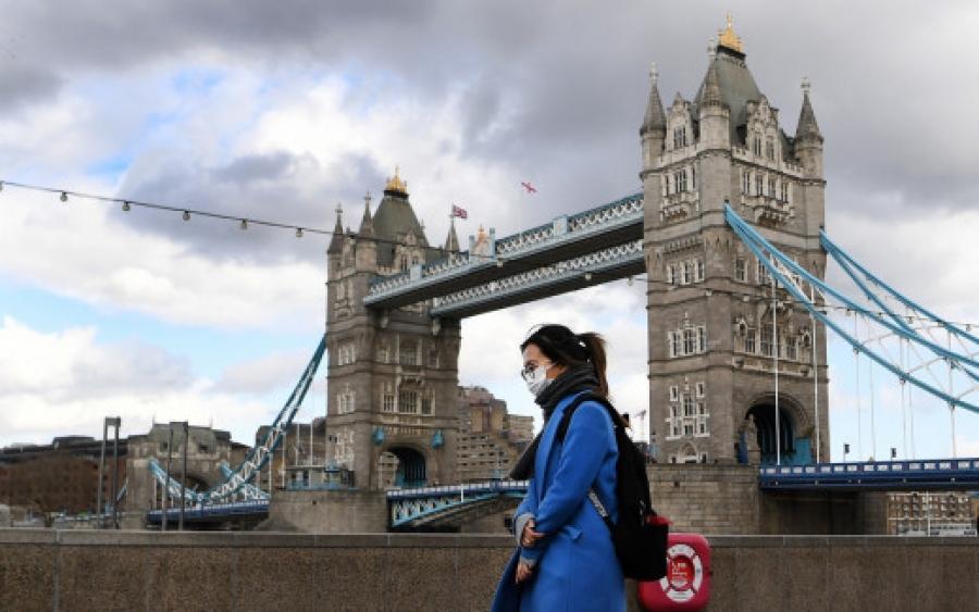 Θλιβερή πρωτιά για τη Βρετανία, παρουσιάζει τον χειρότερο ημερήσιο απολογισμό θανάτων από κορωνοϊό
