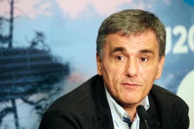 Συνάντηση Τσακαλώτου με Scholz - Le Maire για το χρέος στο περιθώριο του Eurogroup