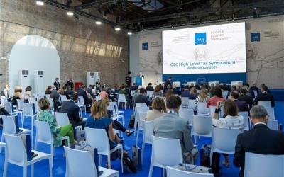 Βενετία: Προς συμφωνία για Παγκόσμιο Eταιρικό Φόρο 15% οι G20