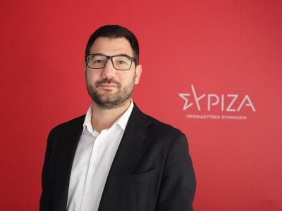 Ηλιόπουλος: Κίνδυνος το 2021 να είναι έτος νέας κοινωνικής και οικονομικής χρεοκοπίας