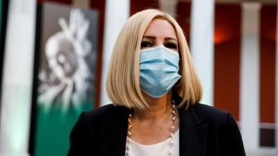 Γεννηματά (ΚΙΝΑΛ): Αναγκαστικό το νέο lockdown, επειδή η κυβέρνηση τρέχει πίσω από την πανδημία