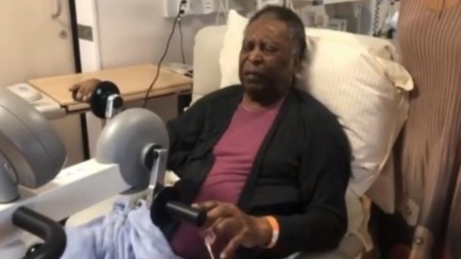 Το video από τις φυσιοθεραπείες του Πελέ μετά την περιπέτεια της υγείας του