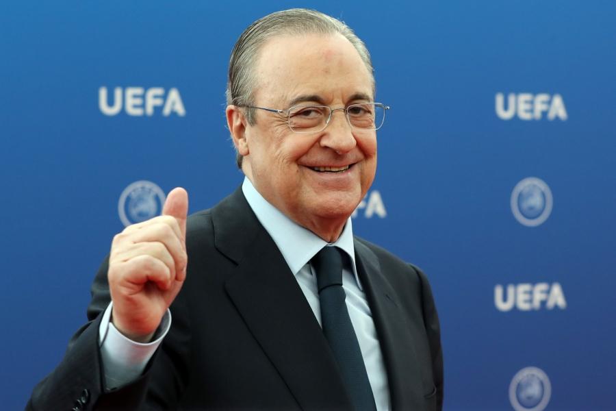 Θετικός στον κορωνοϊό ο πρόεδρος της Ρεάλ Μαδρίτης, Florentino Perez