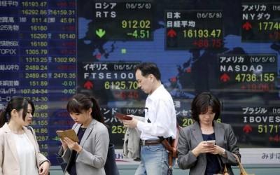 Mεικτά πρόσημα στις αγορές της Ασίας - Τεχνολογικές πιέσεις στην Κίνα