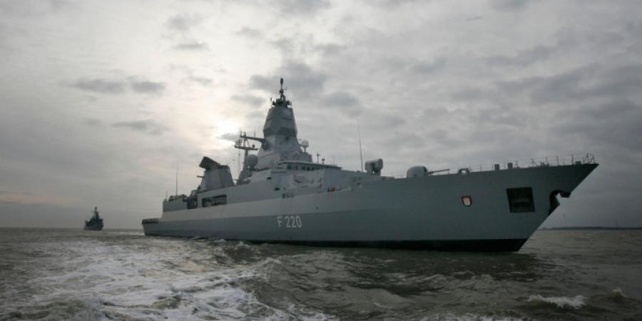 Η Γερμανία στέλνει ξανά πολεμικό πλοίο ανοιχτά της Λιβύης