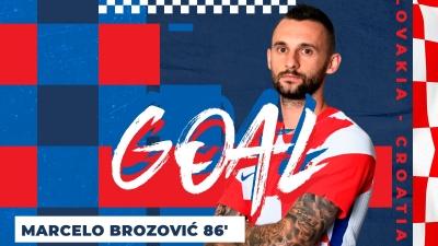Σλοβακία - Κροατία 0-1: Ο Μπρόζοβιτς «λυτρώνει» τους φιλοξενούμενους λίγο πριν το φινάλε (video)