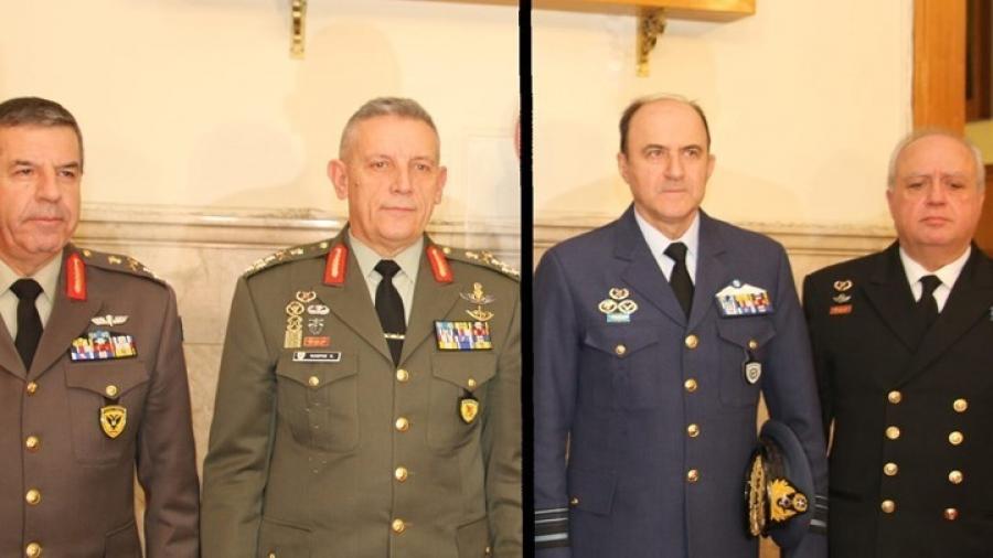 Ποια είναι η νέα ηγεσία των Ενόπλων Δυνάμεων