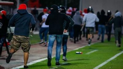 Εισβολή χούλιγκαν στο Ολυμπιακός - Μπάγερν Μονάχου Κ19 - Τέσσερις τραυματίες