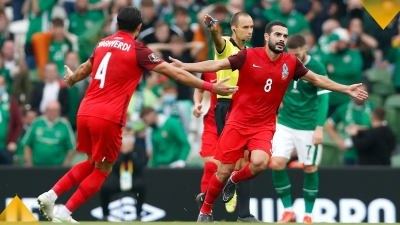 Ιρλανδία – Αζερμπαϊτζάν 0-1: Η γκολάρα του Μαχμούντοβ λίγο πριν το ημίχρονο (video)