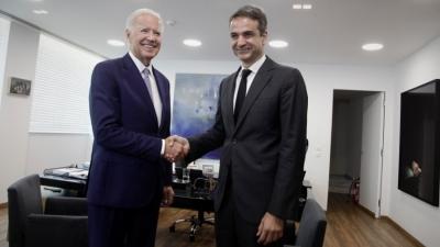 Pyatt: Ο Biden και ο Μητσοτάκης είναι αποφασισμένοι να πετύχουν τη βιώσιμη οικονομική ανάκαμψη