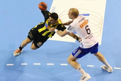 ΑΕΚ – Ίσταντς 30-26: Προβάδισμα η Ένωση για την κούπα του EHF Cup