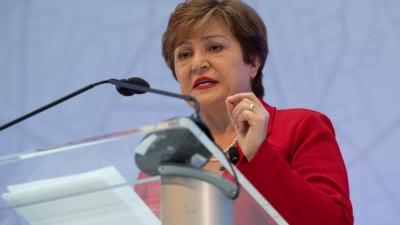 Georgieva (ΔΝΤ): Τα εμβόλια, η «σημαντικότερη» οικονομική πολιτική για το 2021
