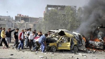 Συρία: Επτά νεκροί από την έκρηξη παγιδευμένου φορτηγού στην πόλη Αζάζ
