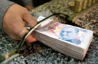 Τουρκία: Πτώση για τη λίρα στις 7,68 ανά δολάριο - Προς εβδομαδιαία άνοδο μετά την επιθετική αύξηση των επιτοκίων
