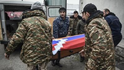 Αρμενία και Αζερμπαϊτζάν αντάλλαξαν 200 σορούς από τις μάχες στο Nagono Karabakh