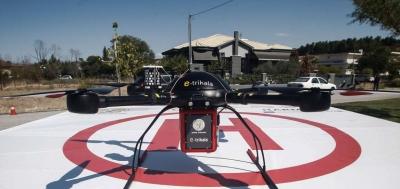 Τρίκαλα: Η πρώτη μεταφορά φαρμάκων στην Ευρώπη με drone