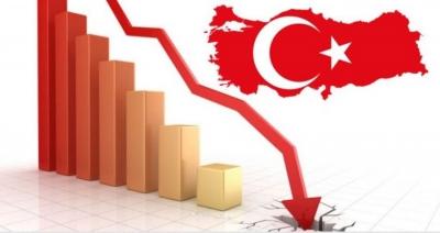 Υπό κατάρρευση η τουρκική οικονομία: Αύξηση 40% στο δημοσιονομικό έλλειμμα
