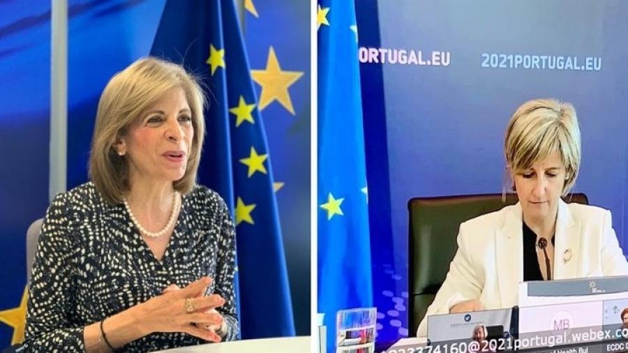 Κυριακίδου (ΕΕ): Το 40% του ενήλικου πληθυσμού της ΕΕ έχει λάβει μια δόση – Πάνω από 20 εκατ. οι εμβολιασμοί την εβδομάδα
