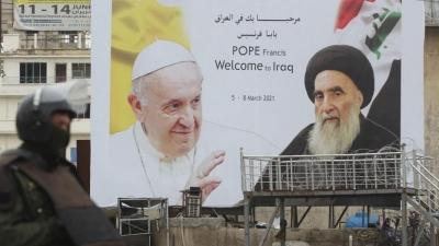 Ιράκ: Ιστορική συνάντηση του Πάπα με τον Σιίτη θρησκευτικό ηγέτη Sistani