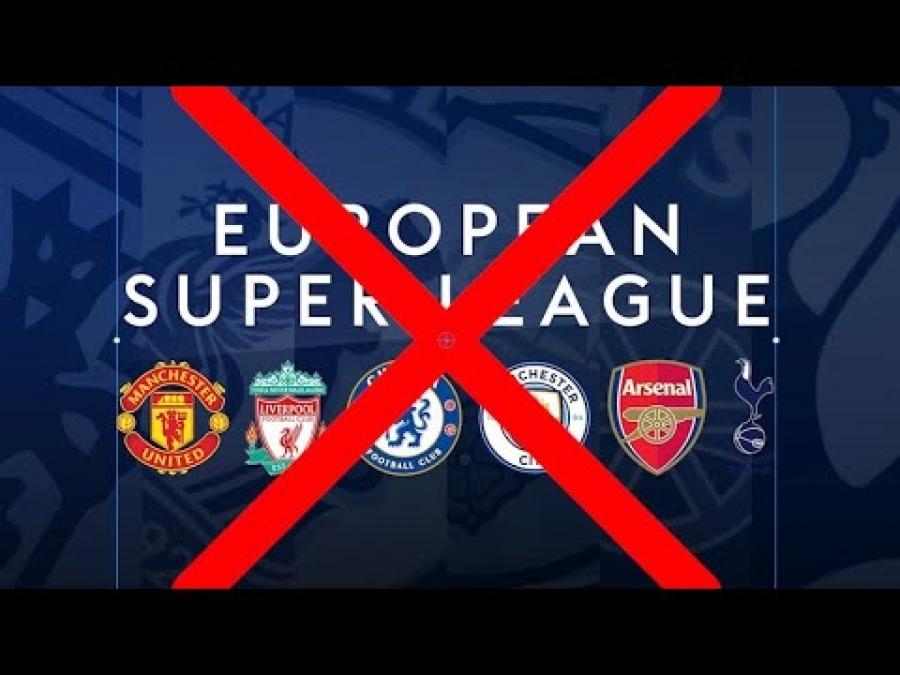 Τελείωσε πριν ξεκινήσει το πραξικόπημα της European Super League!