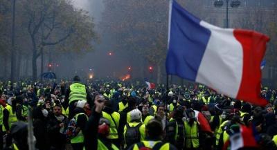 Γαλλία: Το 60% των πολιτών ζητούν να σταματήσουν οι κινητοποιήσεις των Κίτρινων Γιλέκων