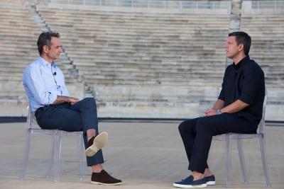 Ο Πρωθυπουργός Κυριάκος Μητσοτάκης καλεσμένος στο τελευταίο επεισόδιο της εκπομπής «2004 δευτερόλεπτα»
