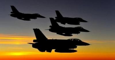 Νυχτερινές πτήσεις τουρκικών μαχητικών αεροσκαφών - Δεκατρείς παραβιάσεις του ελληνικού εανέριου χώρου