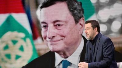 Ιταλία: Τριγμοί στην κυβέρνηση - Οργή Draghi κατά Salvini, αιτία.... ο κορωνοϊός