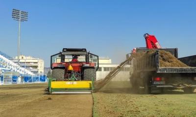 Προχωράει στην ανακατασκευή του αγωνιστικού χώρου της Ριζούπολης ο Απόλλων Σμύρνης (pics)
