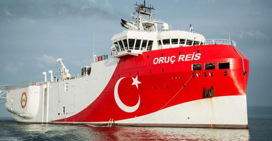 Τουρκία: Επί 82 μέρες το πολεμικό μας ναυτικό προστάτευε το Oruc Reis