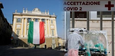 Ιταλία: Tο τελευταίο 24ωρο τα κρούσματα κορωνοϊού είναι 3.224, με 166 θανάτους