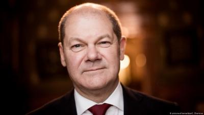 Scholz (ΥΠΟΙΚ Γερμανίας): Πολύ σύντομα θα υπάρξει συμφωνία για τον ελάχιστο παγκόσμιο φορολογικό συντελεστή