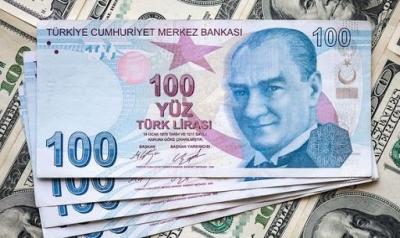 Σε υψηλό πενταμήνου η τουρκική λίρα - Το 1 δολ. ισοδυναμεί με 7.16987 λίρες