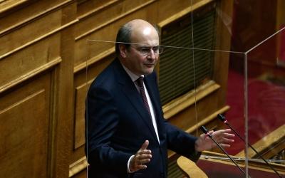 Χατζηδάκης (υπ. Εργασίας): Φοβήθηκαν να υπογράψουν την απόφαση για τις προσωρινές συντάξεις – Την υπέγραψα εγώ και η γενική γραμματέας