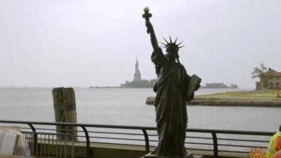 Η Ουάσινγκτον απέκτησε τη «μικρή αδελφή» του Αγάλματος της Ελευθερίας