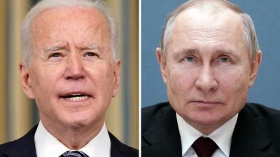 Κρεμλίνο: Putin και Biden τονίζουν την ανάγκη αποκλιμάκωσης, ωστόσο οι απόψεις των δύο ηγετών διαφέρουν